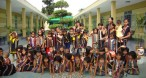 kids from Thien An orphanage and boarding school in Pleiku