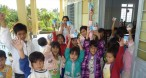 kids at boarding school Thien An